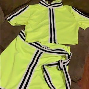 2 piece matching Skirt set